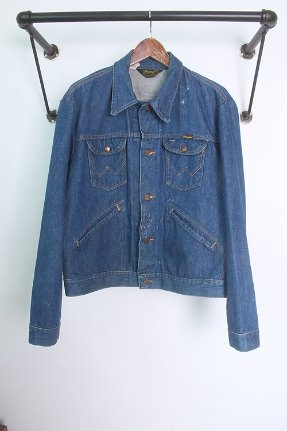 "~80s Wrangler no fault 126 MJ (M) ""made in USA / 14oz"""
